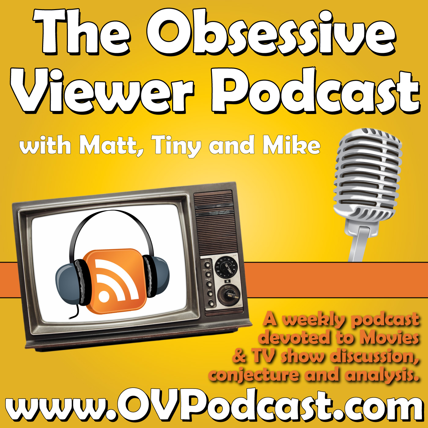 The Obsessive Viewer | Weekly Movie/TV Review & Discussion Podcast logo
