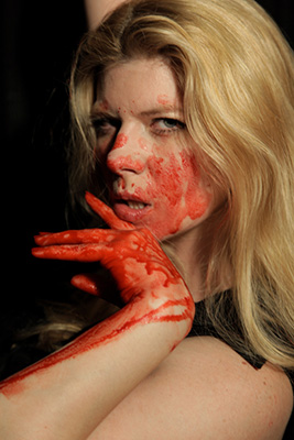 Provocative horror filmmaker Izzy Lee isn't afraid to get her hands dirty while creating her tales of terror.