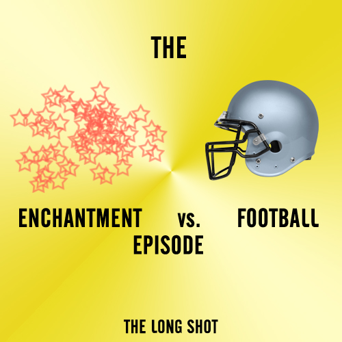 Episode #504: The Enchantment vs. Football Episode featuring Beth Stelling
