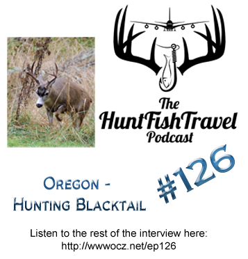HuntFishTravel Podcast with CarrieZ, a Hunting, Fishing