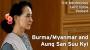 Artwork for Burma/Myanmar and Aung San Suu Kyi