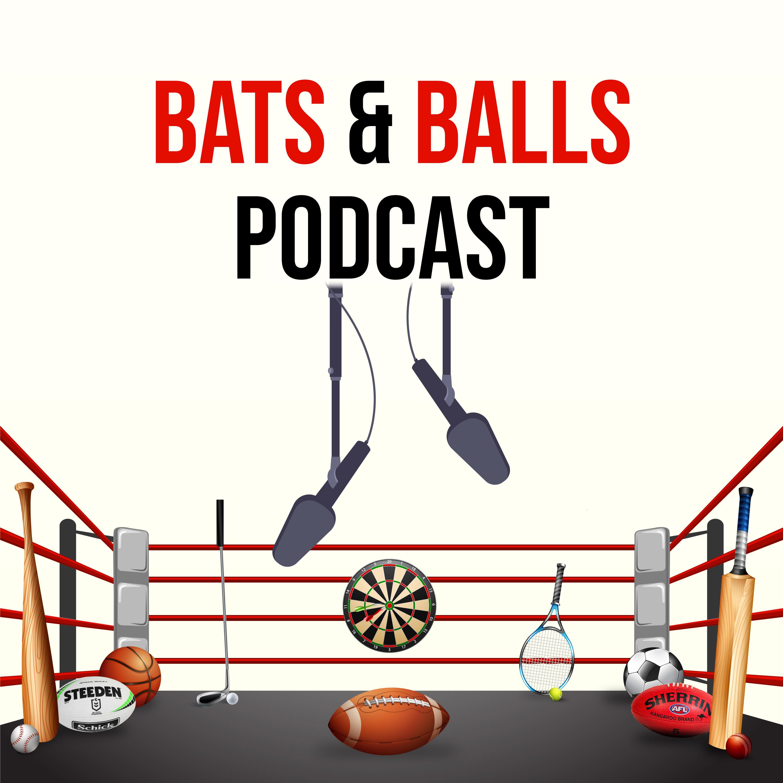 Bats and Balls Podcast show art