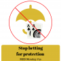 Artwork for Stop betting for protection | MED Monday #50