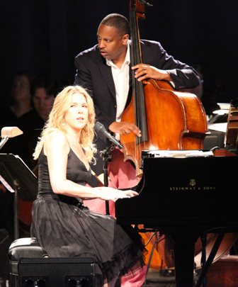 Diana Krall at Tangelwood
