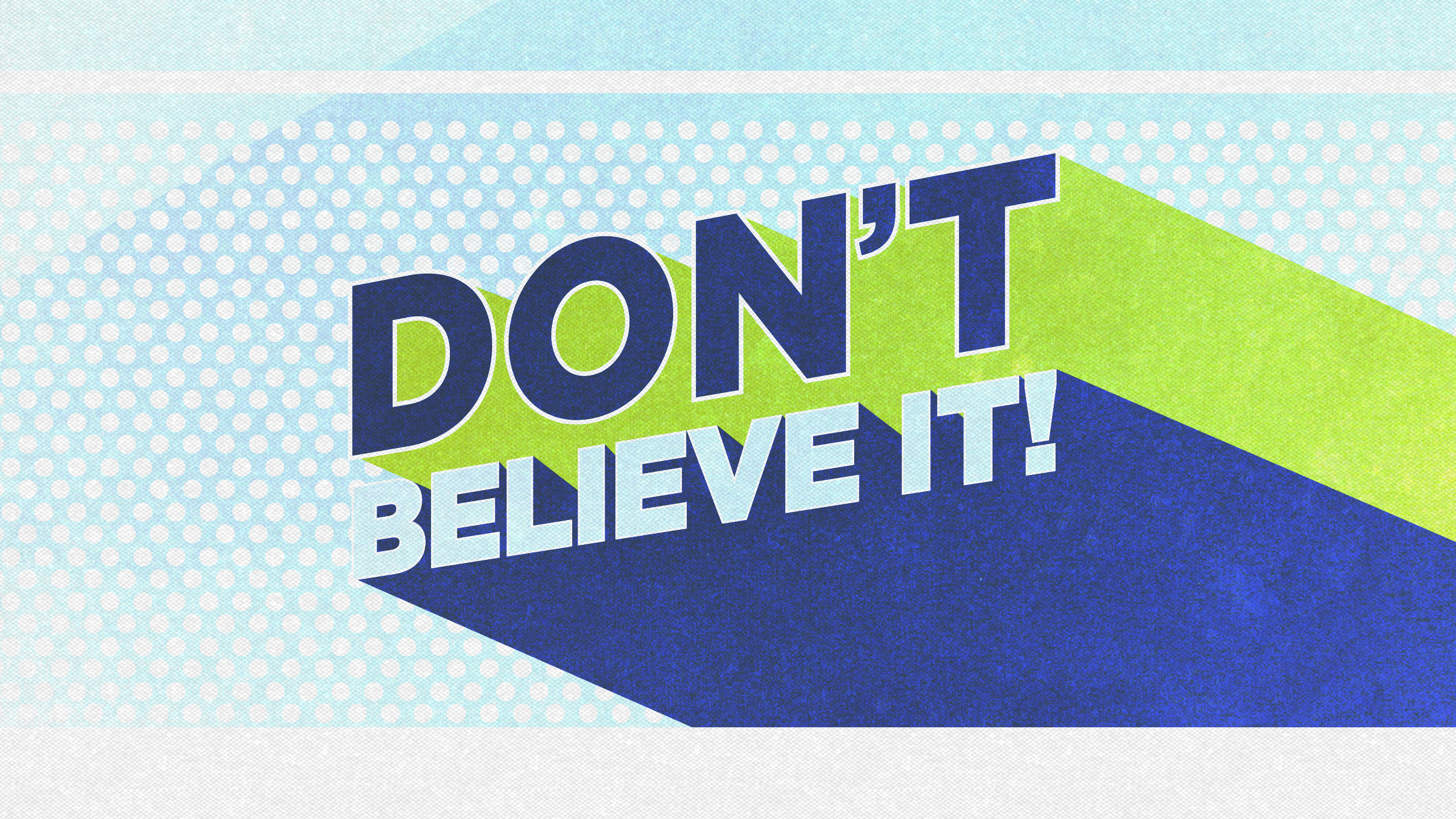 Artwork for Don't Believe It: Godly Parents Guarantee Godly Children 8-31-14