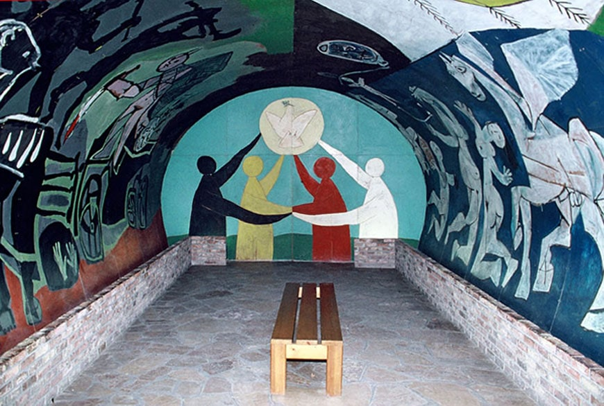 Picasso Chapel Vallauris War and Peace