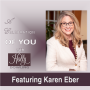 "Artwork for 125 Karen Eber ~ ""Leadership is about helping people to be seen"""