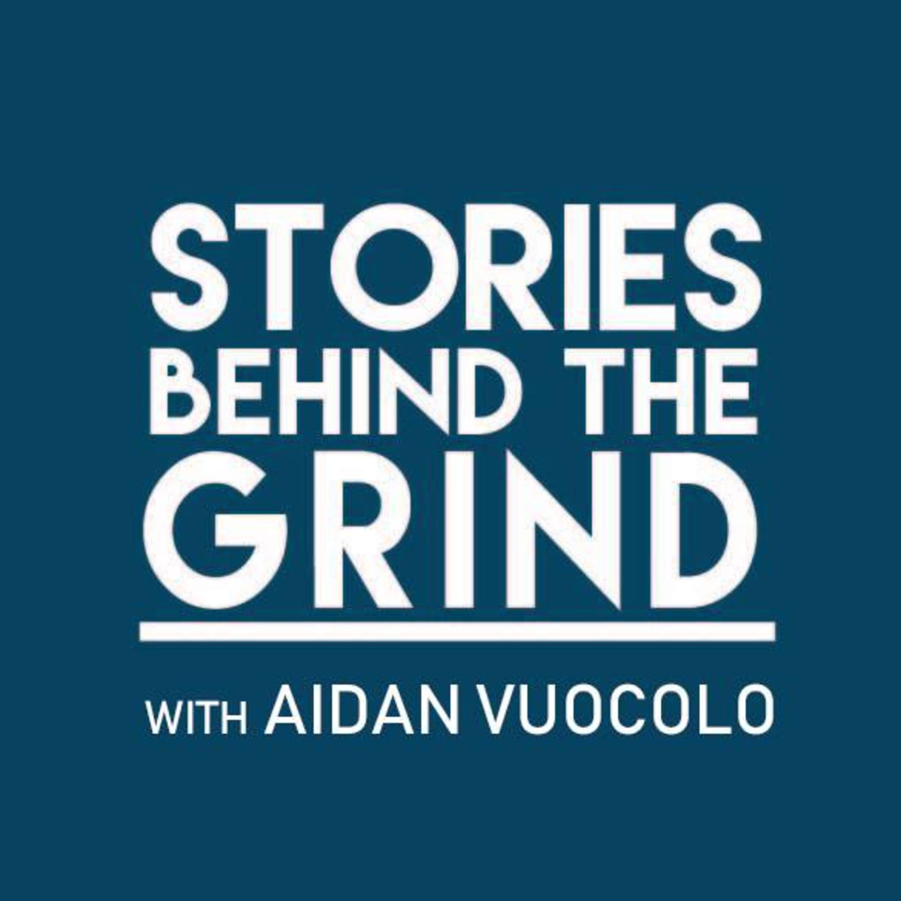 Stories Behind the Grind show art