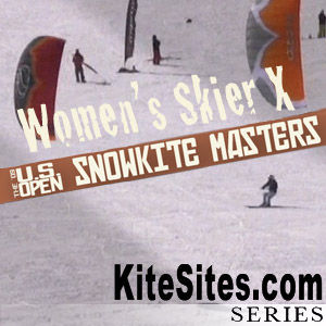 WOMEN'S SNOWKITE SKIER CROSS: The U.S. Open from Skyline Utah