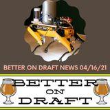 Better on Draft News (04/16/21) – Performance Enhancing Beers & Beer Spas