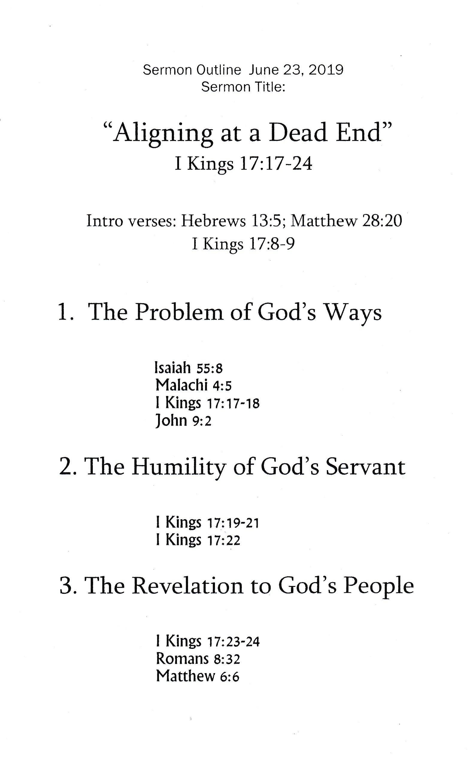 Romans 13 Sermon Outline