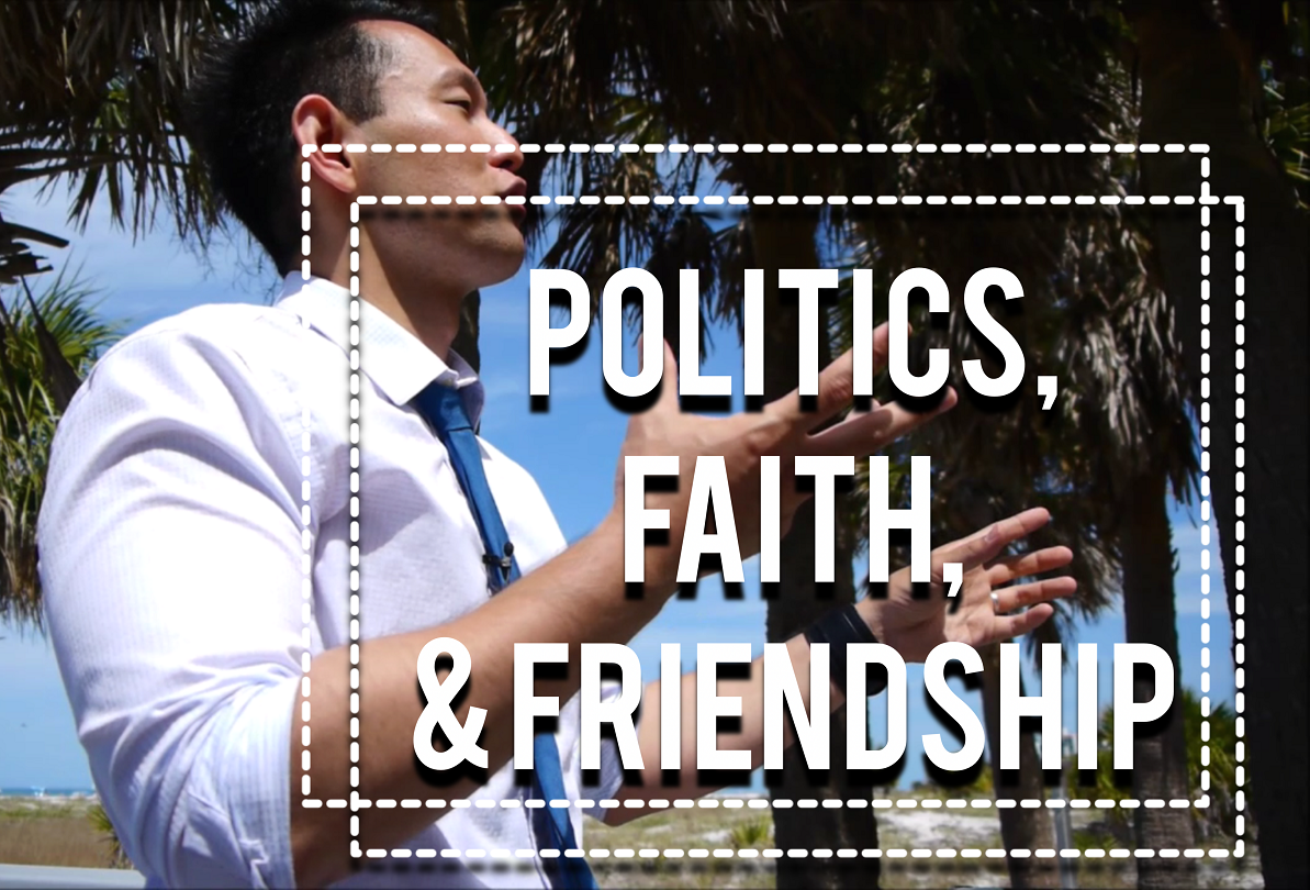 Artwork for When Politics End a Friendship and How Faith Fits In - J.S. Park