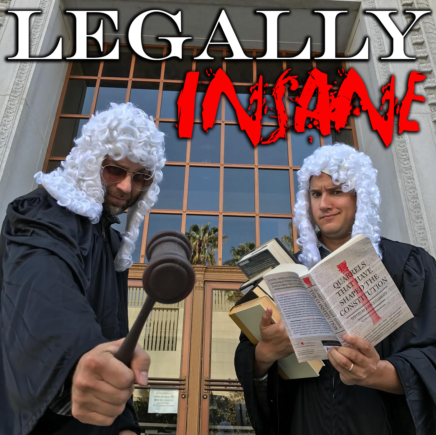 Legally Insane - The Law is Funny show art
