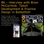 Artwork for 86 – Interview with Brian McCormick, Talent Development & Practice Design in Basketball