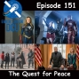 Artwork for The Earth Station DCU Episode 151 – The Quest for Peace