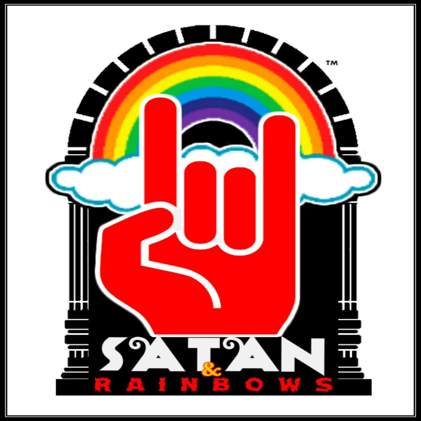 Satan and Rainbows show art