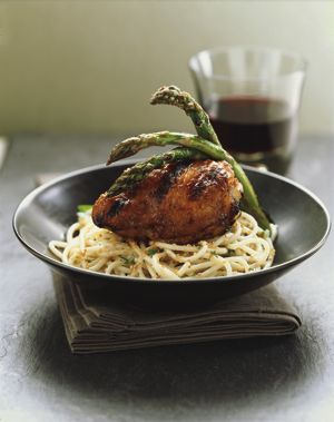 Recipes of the week: Kate's Tasty Asian Chicken Thighs with Asian Noodle Salad