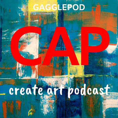 Create Art Podcast Logo