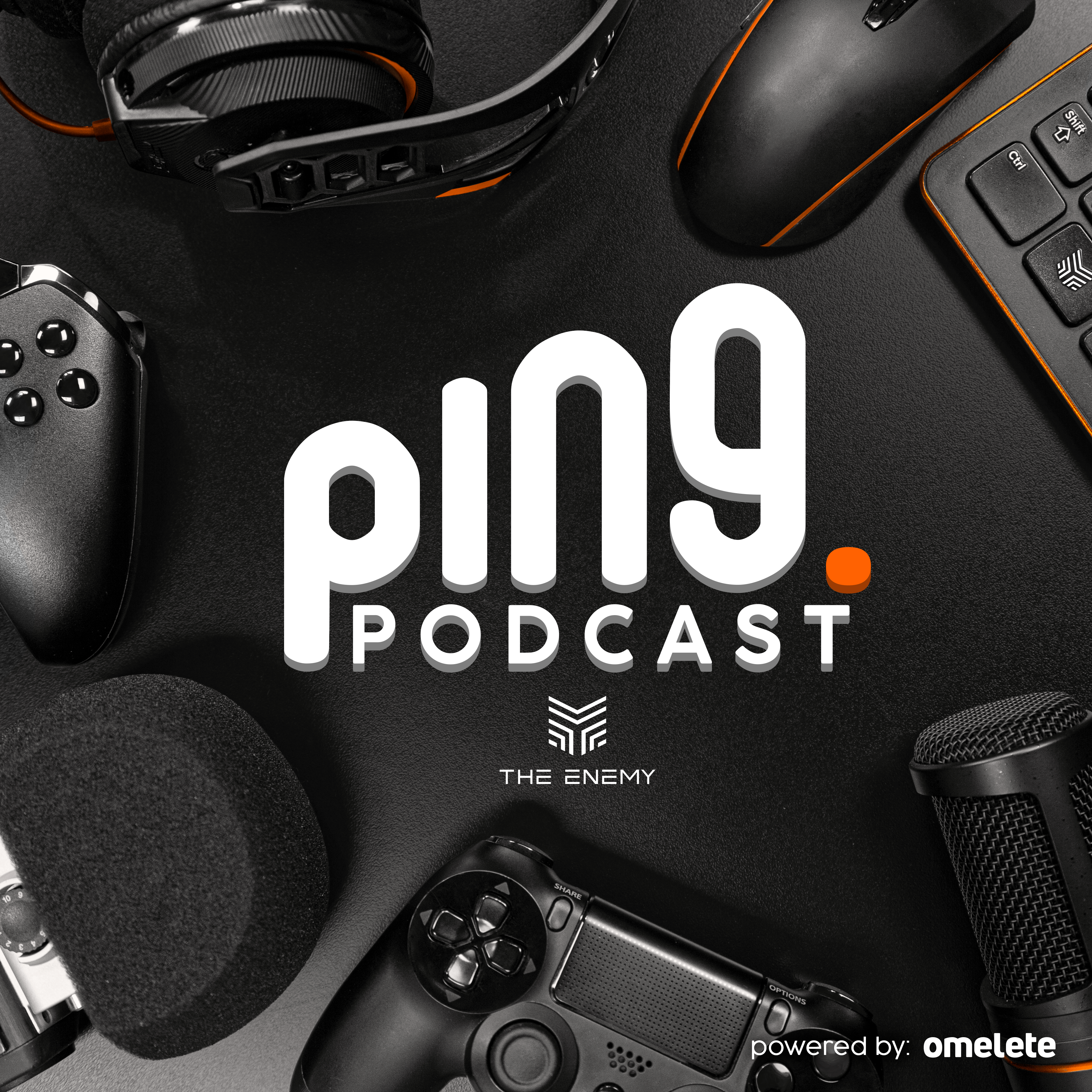 Ping - The Enemy show art