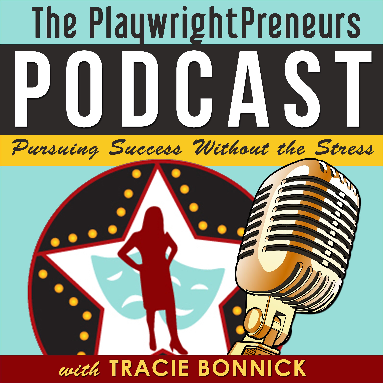 The PlaywrightPreneurs Podcast show art