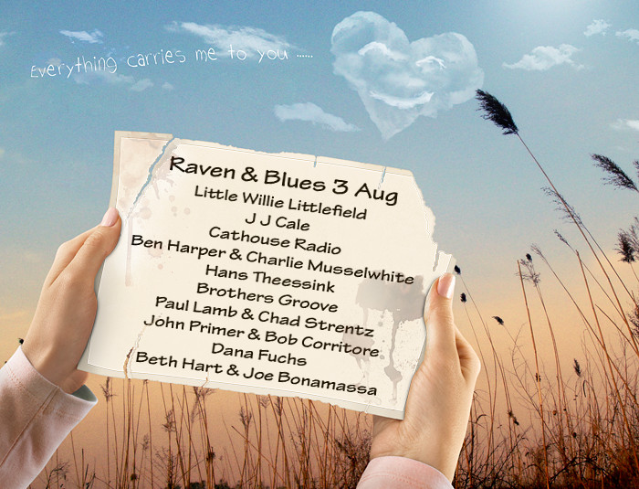 Raven and Blues 3 Aug 2013