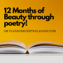 """Artwork for 058 - Radiant Rebecca's """"12 Months of Beauty through poetry"""" episode!"""