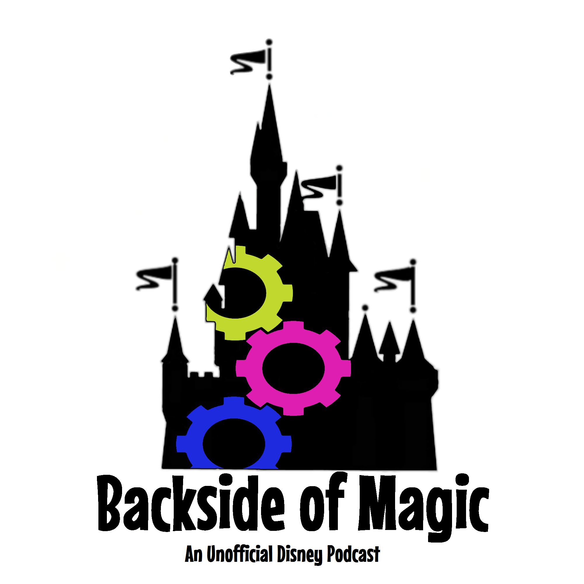 Backside of Magic show art