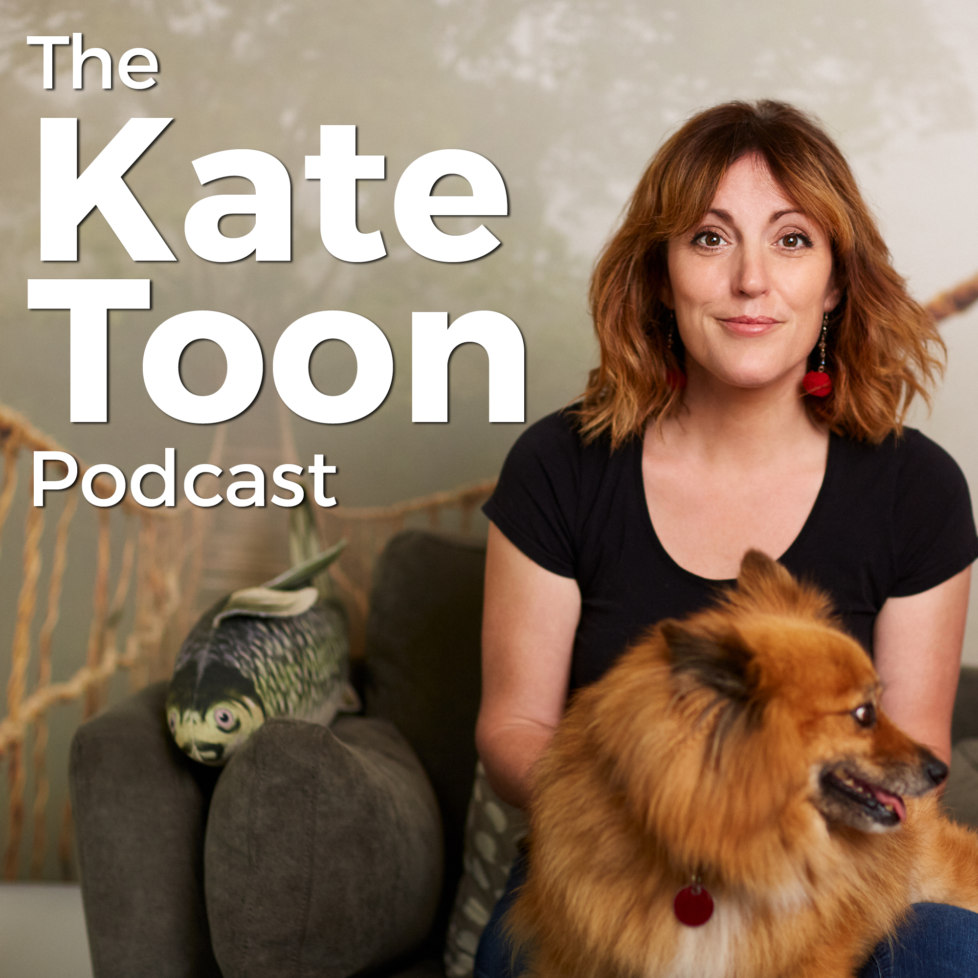 The Kate Toon Podcast show art