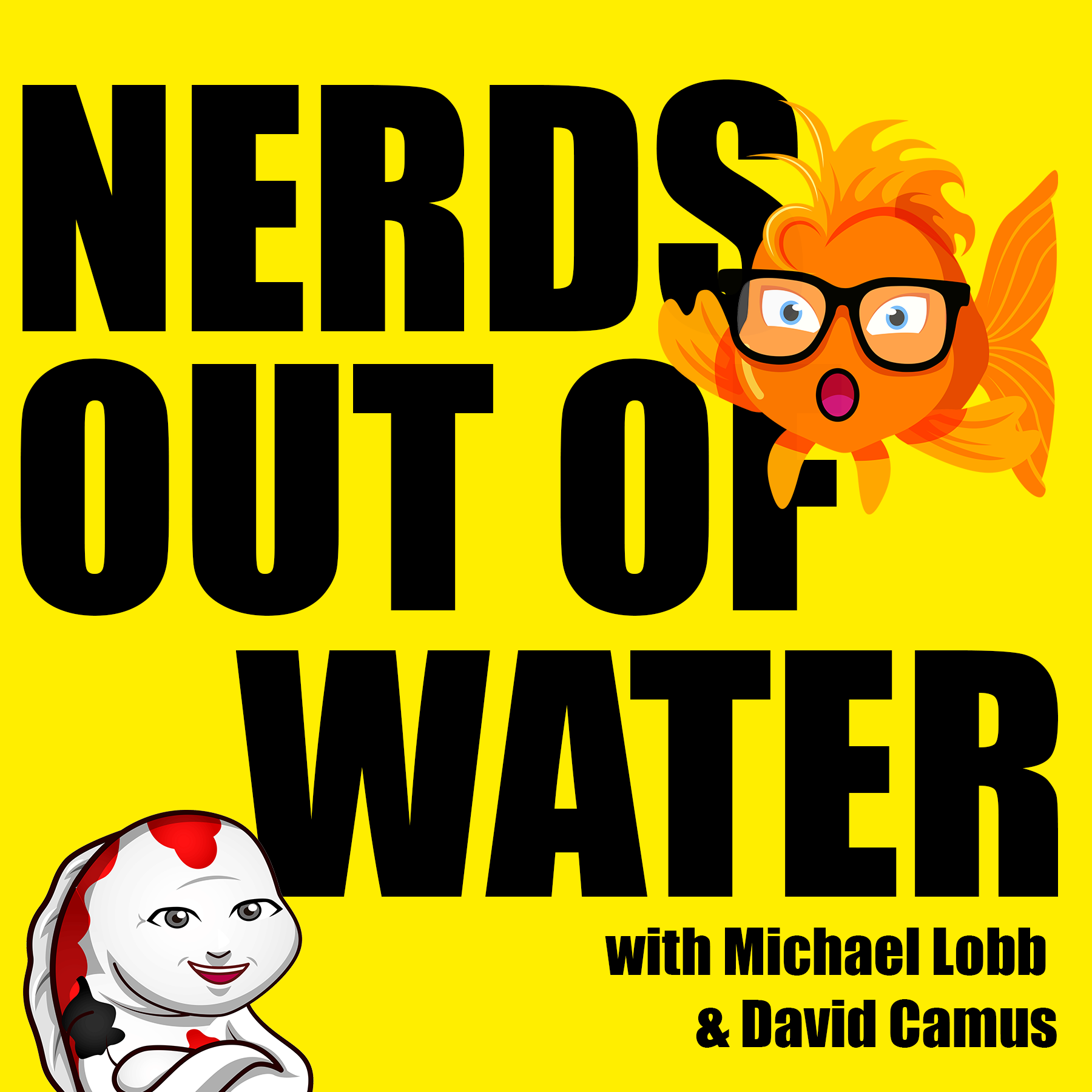 Nerds Out Of Water show art