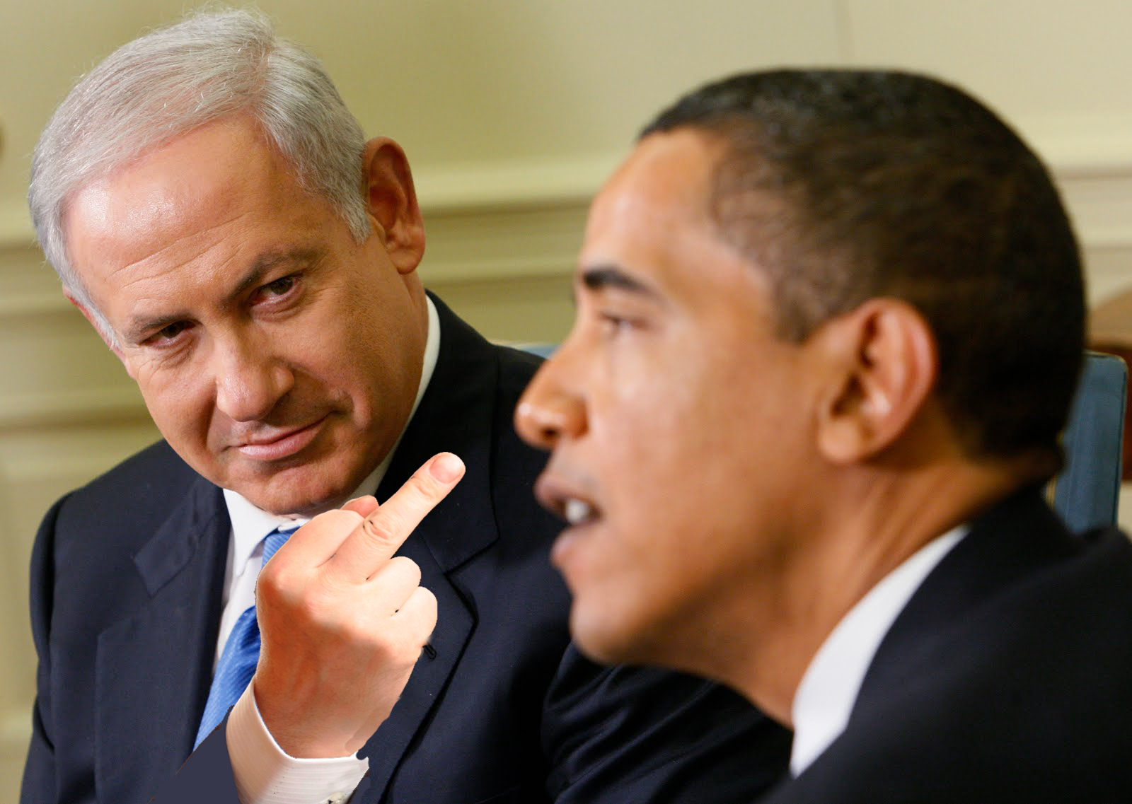 Netanyahu Punks Obama as Congress Grovels