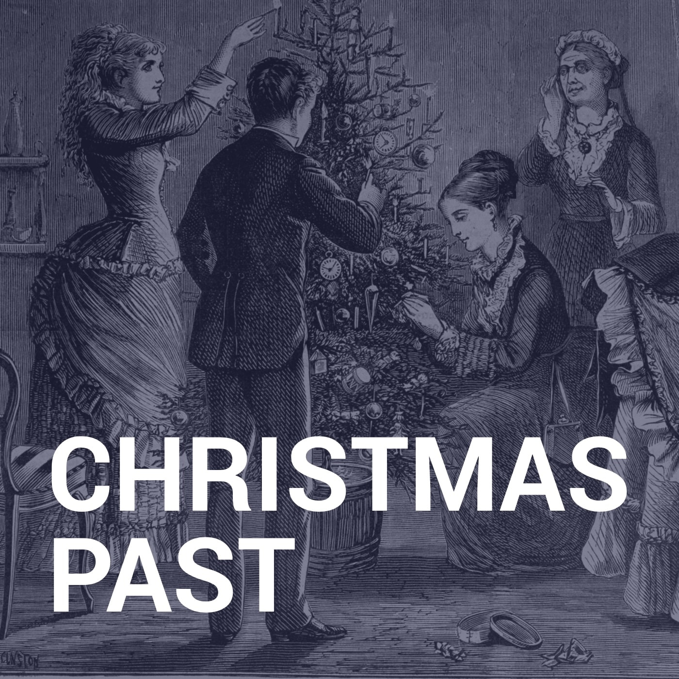 Christmas Past show art
