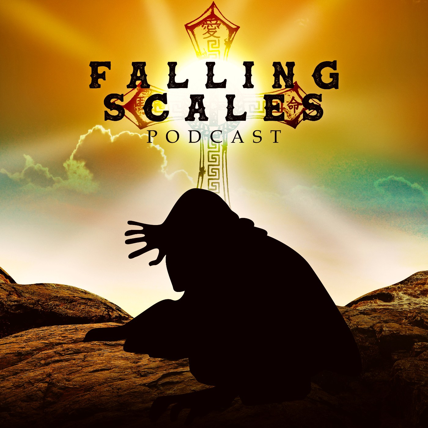 The Falling Scales Podcast show art
