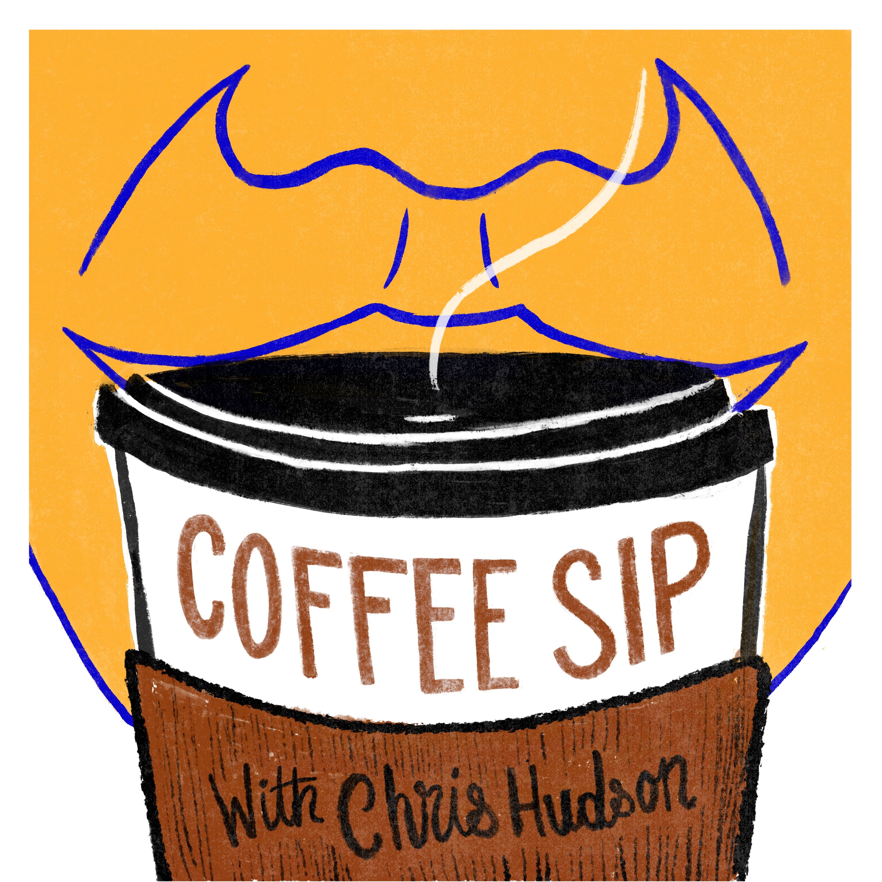 Coffee Sip with Chris Hudson show art