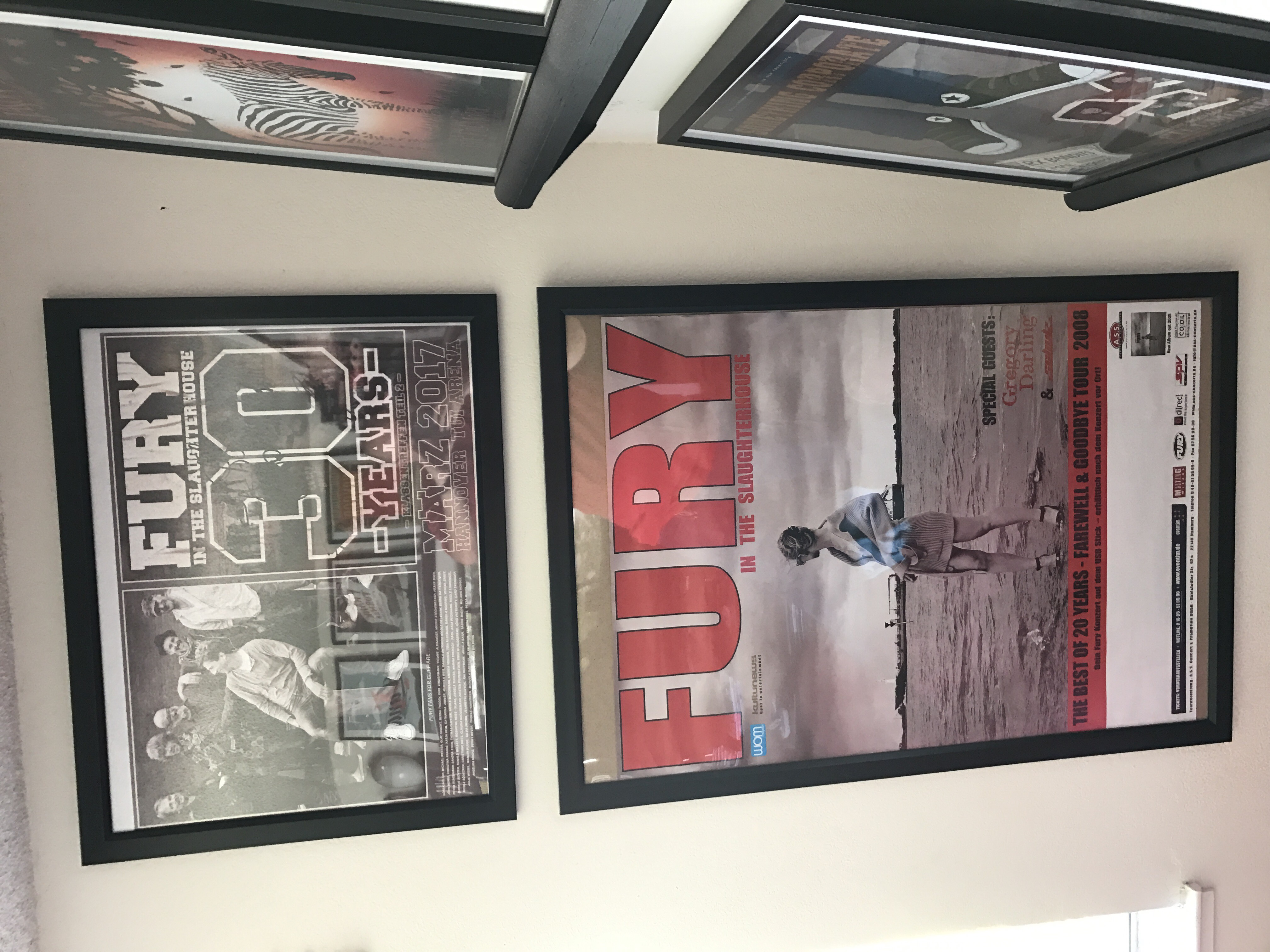 My Fury posters