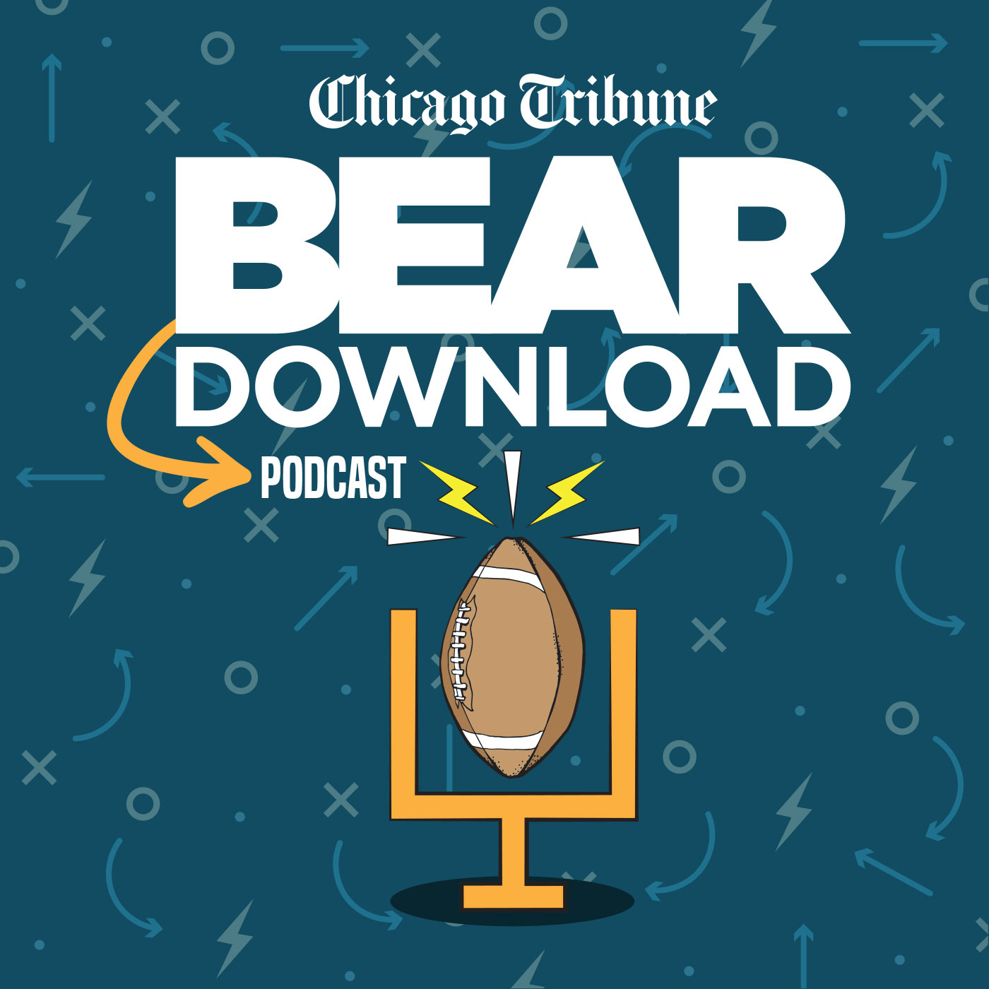 Bear Download — A Chicago Bears podcast show art