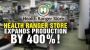 Artwork for Health Ranger Store expands production by 400%