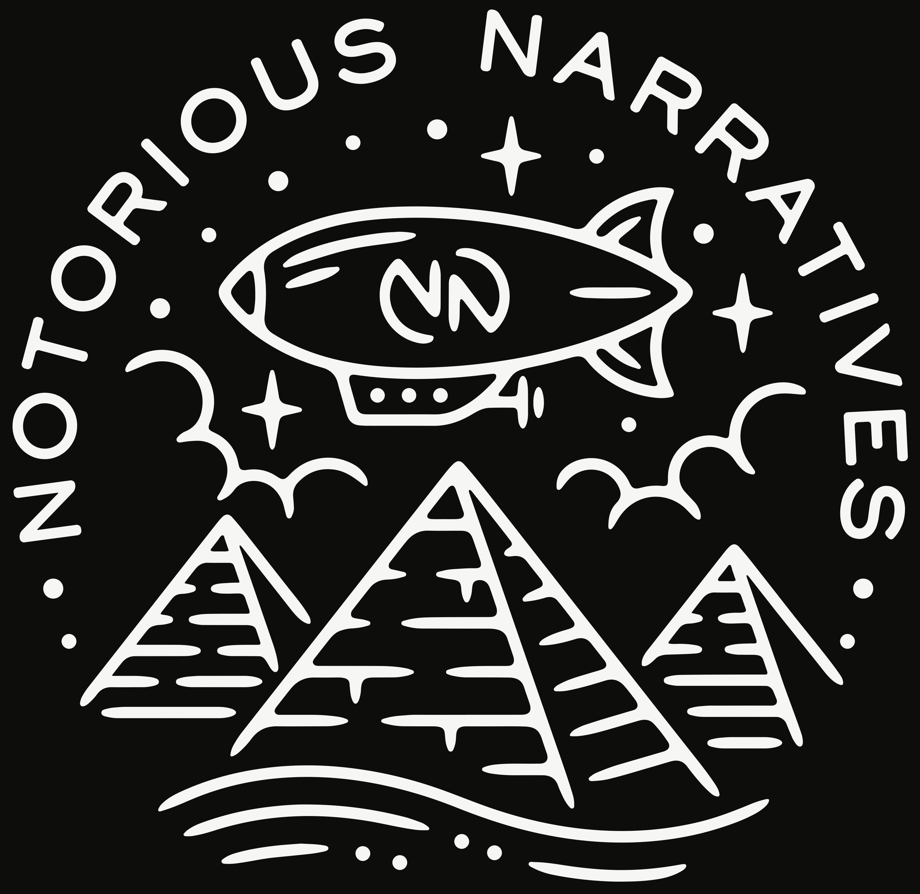Notorious Narratives show art