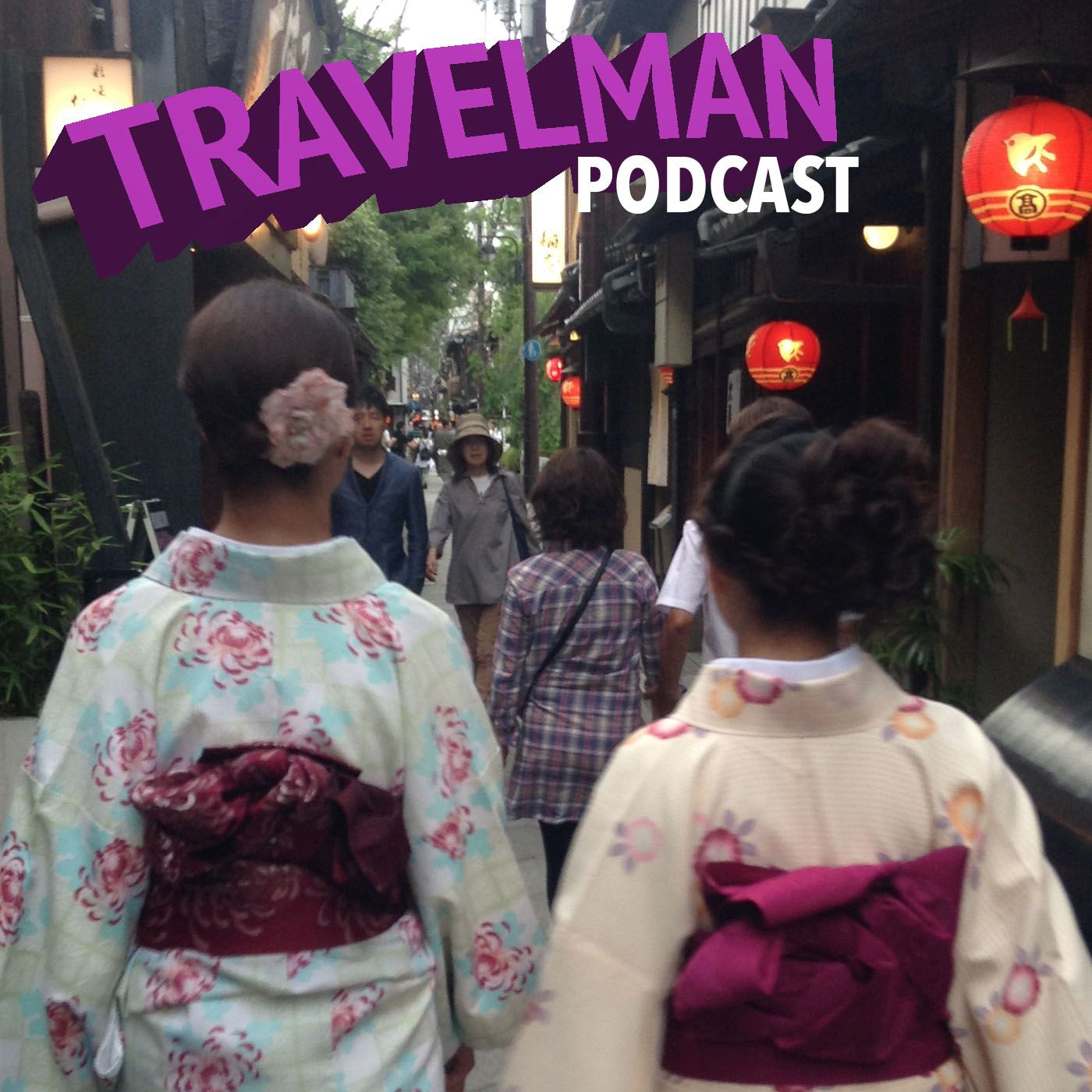 Travelman Podcast show art