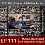 Artwork for EP 111 | Dan Mangan Co Founder Side Door Access