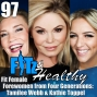 Artwork for Fit Female Forewomen from Four Generations: Tamilee Webb & Kathie Toppel - Podcast 97 of FITz & Healthy