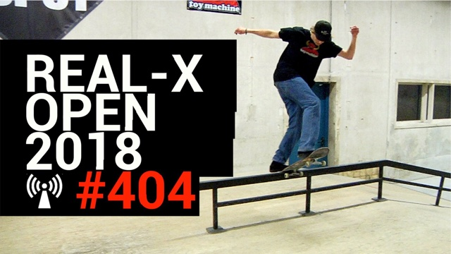 Artwork for Real-X Open 2018
