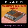 Artwork for 012: Marzipan's Answering Machine Version 1.0