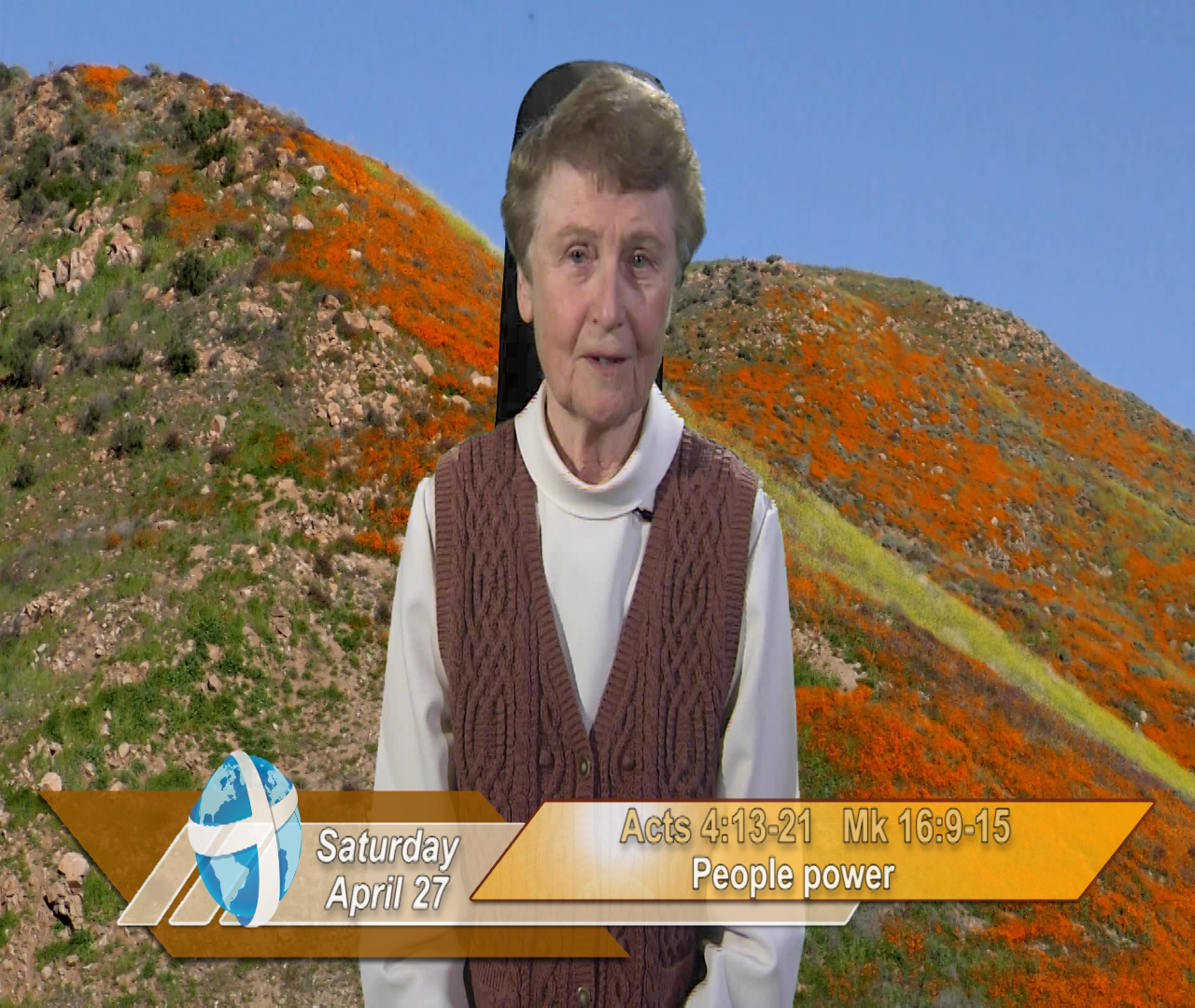 Artwork for iGod Today with Sr. Jeanne Harris, OP; Today's topic:   People power