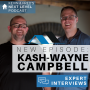 Artwork for KASH-WAYNE CAMPBELL ON TURNING HIS REAL ESTATE JOB INTO A THRIVING BUSINESS. Interview: Kash-Wayne Campbell and Kevin Kauffman