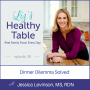 Artwork for 38: Dinner Dilemma Solved with Jessica Levinson, MS, RDN