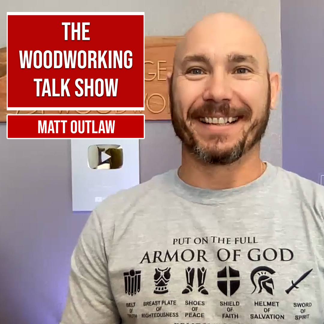 Matt Outlaw of 731 Woodworks: Why he  quit his job as a cop to be a YouTuber (Ep 11) show art