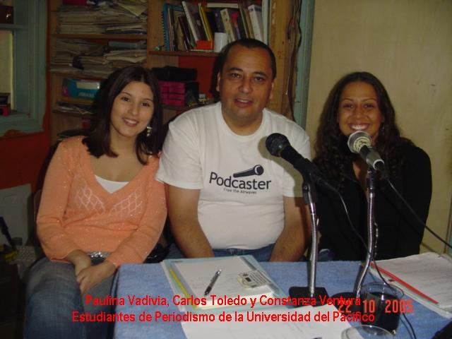 62 ChilePodcast con estudinates de Peridismo.