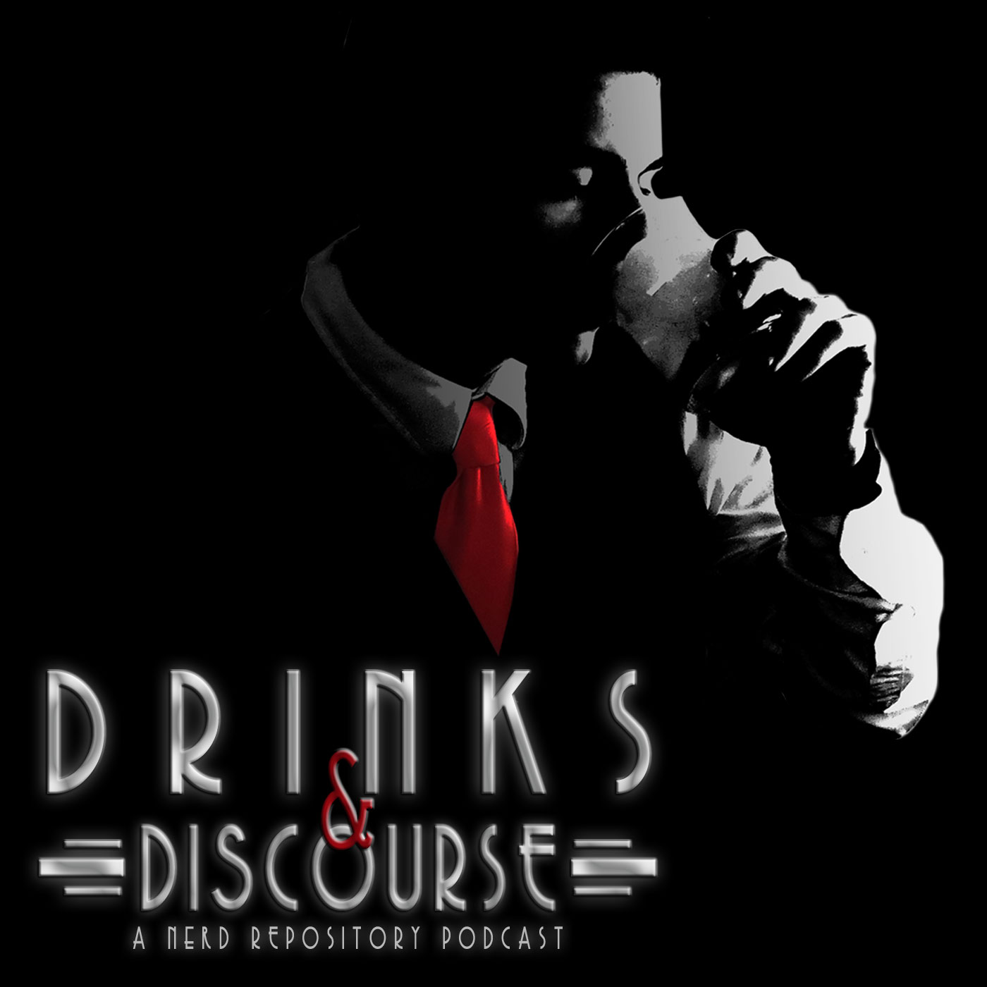 Drinks and Discourse logo