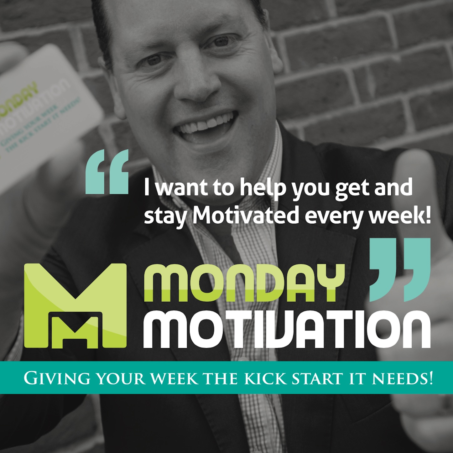 Dickie Armour - Monday Motivation Podcast show art