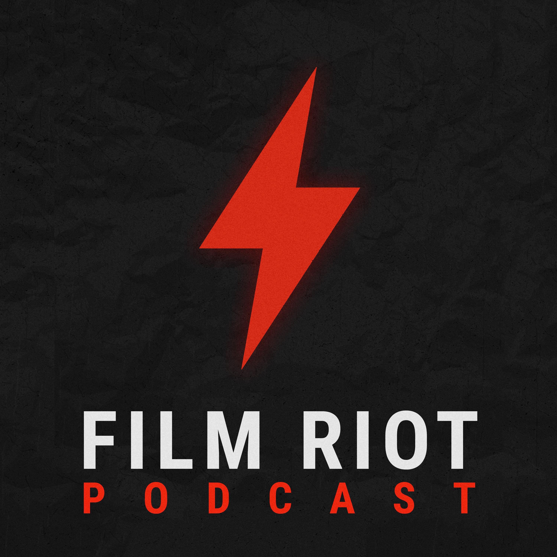 The Film Riot Podcast show art